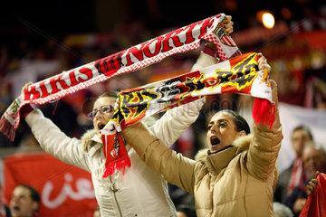 Sevilla  Spanien  FC Sevilla Fans