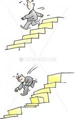 Treppensturz