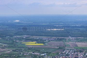 Blick auf die Rheinebene