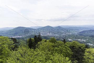 Aussicht vom Fremersbergturm