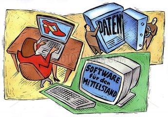 Software fuer den Mittelstand