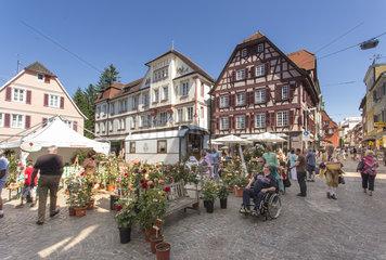 Wochenmarkt in Lahr