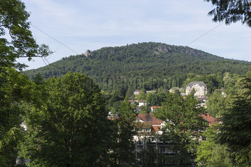 Schloss Hohenbaden (bei Gruendung Burg Hohenbaden  heute Altes Schloss)
