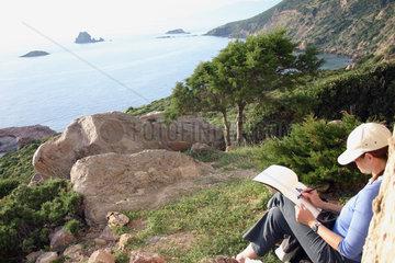 Kueste in Sardinien