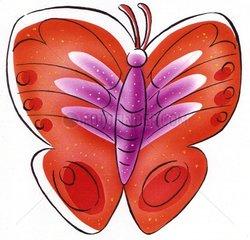 Schmetterling Rottoene