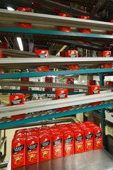 Berlin  Deutschland  Roestkaffee-Produktionsanlage von Kraft Foods in Berlin-Neukoelln
