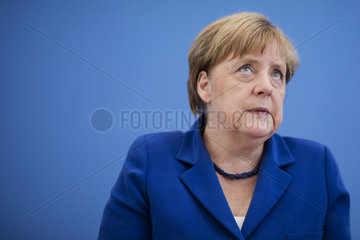 Merkel Annual Summer Press Conference