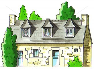 Haustyp Frankreich