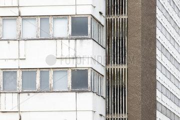 Berlin  Deutschland  Detail der Fassade des Hauses fuer Statistik der DDR