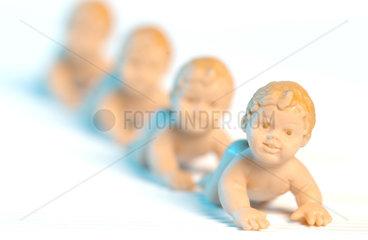 Geklonte Babys