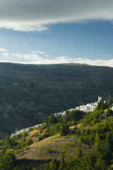 Pampaneira  one of the most famous villages in Alpujarra; Granada Province  Andalucia  Spain