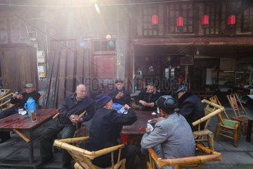 CHINA-SICHUAN-CHENGDU-PENGZHEN ANCIENT STREET (CN)