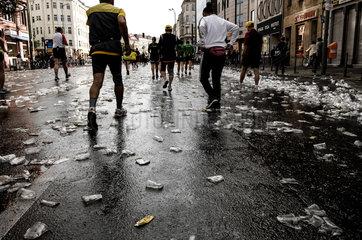 Berlin  Deutschland  der Berlin-Marathon