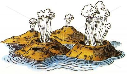 Vulkane Erdwaerme