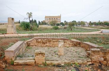 Alcudia  Mallorca  Spanien  Pollentia  roemische Ausgrabungsstaette