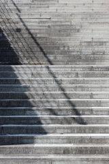 Berlin  Deutschland  Architekturdetail der Treppen im Kanzlergarten