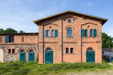 Bernau  Deutschland  sanierter  ehemaliger Pferdestall auf Schloss Boernicke