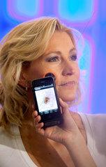 Duesseldorf  Deutschland  Hautkrebsscreening 2.0 via iPhone auf der Messe Medica