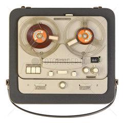 tragbares Tonbandgeraet Telefunken Magnetophon 85  1959