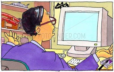 Programmierer ohne Bildschirminformation