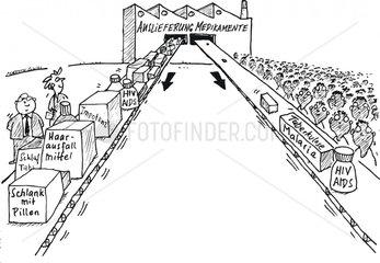 Menschenrechte Auslieferung Medikamente