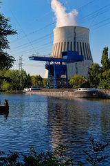 Berlin  Deutschland  Vattenfall Heizkraftwerk Reuter West