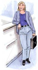 Business Frau Nr. 3