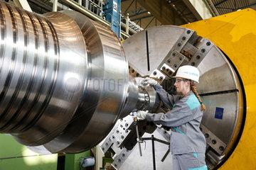 Muelheim an der Ruhr  Deutschland  kooperative Ingenieure  Ausbildung bei Siemens Energy Muelheim