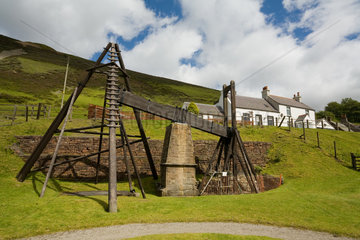 Wanlockhead  Grossbritannien  das Lead-Mining Museum (Bleibergbaumuseum)