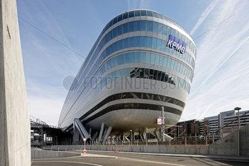 Frankfurt am Main  Deutschland  The Squaire  ein Buerokomplex am Flughafen Frankfurt/Main