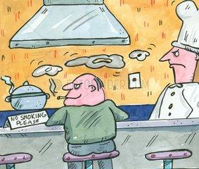 rauchen Gaststaette