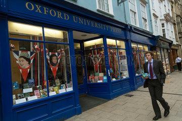 Oxford  Grossbritannien  Filiale der Oxford University Press