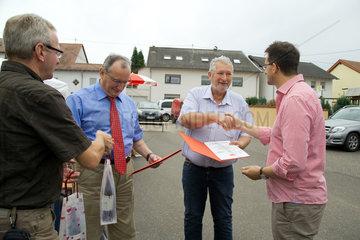 Beckingen  Deutschland  Generalsekretaer der SPD Saar  Reinhold Jost