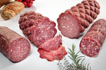 Riedlingen  Deutschland  Salami Mix