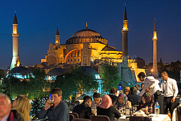 Hagia Sofia abends