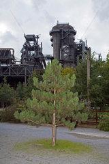 Duisburg  Deutschland  Stillgelegter Hochofen im Landschaftspark Duisburg-Nord
