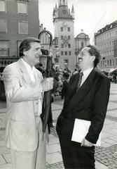 Helmut Fischer  Christian Ude  1993