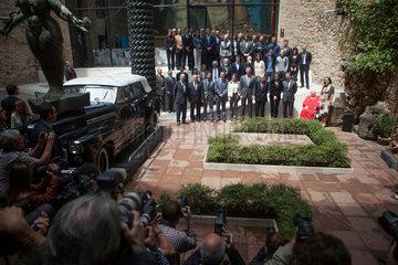 Figueres  Spanien  die Fuersten von Asturien Museum Dali