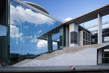 Berlin  Deutschland  das Marie-Elisabeth-Lueders-Haus im Regierungsviertel