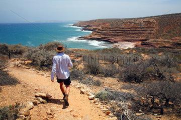 Kalbarri  Australien  die Eagle Schlucht des Kalbarri-Nationalparks