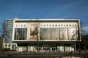 Berlin  Deutschland  das Kino International in der Karl-Marx-Allee