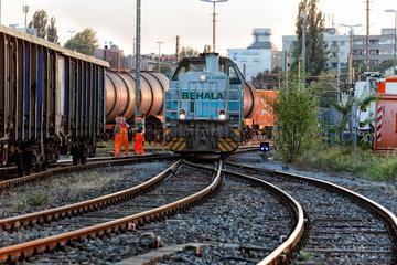 Berlin  Deutschland  BEHALA-Diesellok