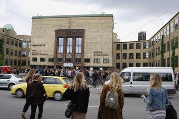 Studentenversammlung in Kopenhagen