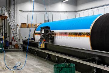 Potsdam  Deutschland  Textilprinter INFINITUS von Big Image Systems