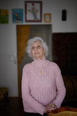 Budapest  Ungarn  Eva Pusztai-Fahidi  Nebenklaegerin im Oskar Goering Prozess