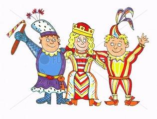 dreigestirn Karneval Koeln