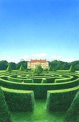 England Schloss Irrgarten