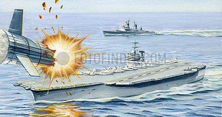 Laserwaffen Kriegsschiff Flugzeugtr?ger