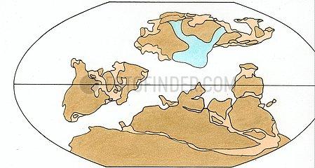 Kontinentenverschiebung 2 Silur