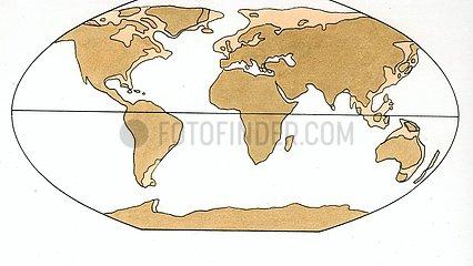 Kontinentenverschiebung 5 Eiszeit
